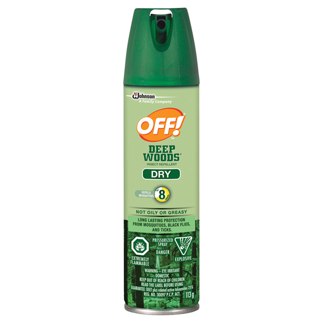Deep Woods Aerosol Insect Repellent 113 g