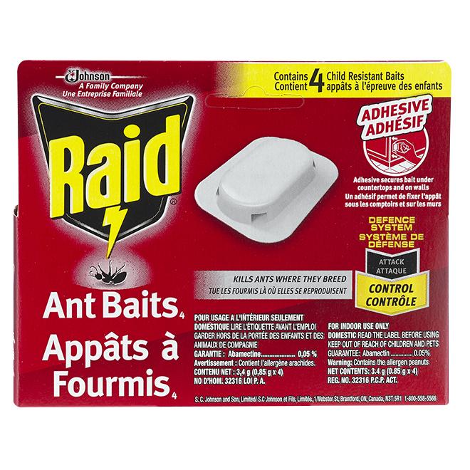 Raid An Bait - Pack of 4