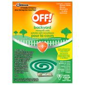 Off(TM) - Mosquito Coils -  8/Pack - Green