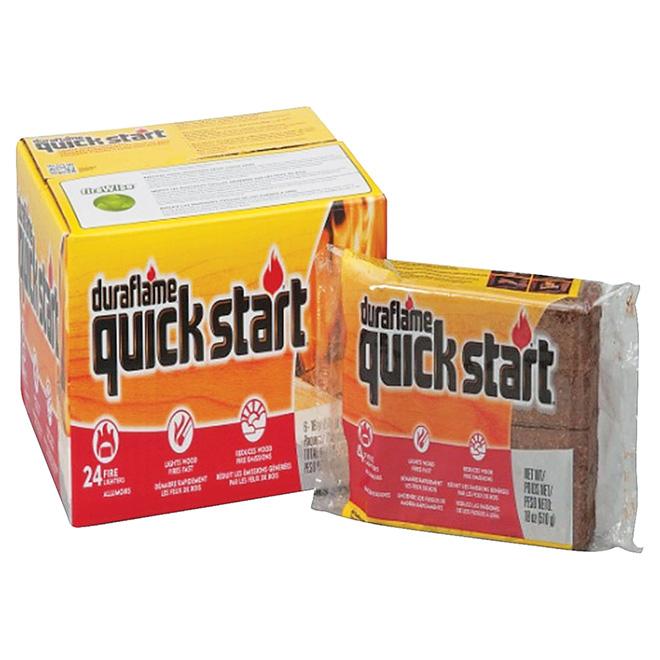 Allume-feu « Quick Start », paquet de 24