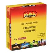 Xtraflame(R) Wood Fiber Firestarter - Mini Logs - 10/Box
