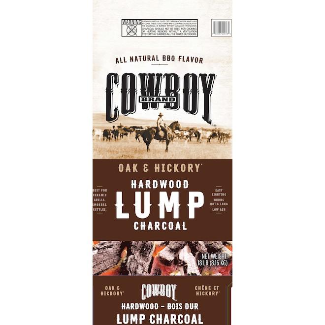 Duraflame Lump Charcoal - Oak and Hickory - 18 lb