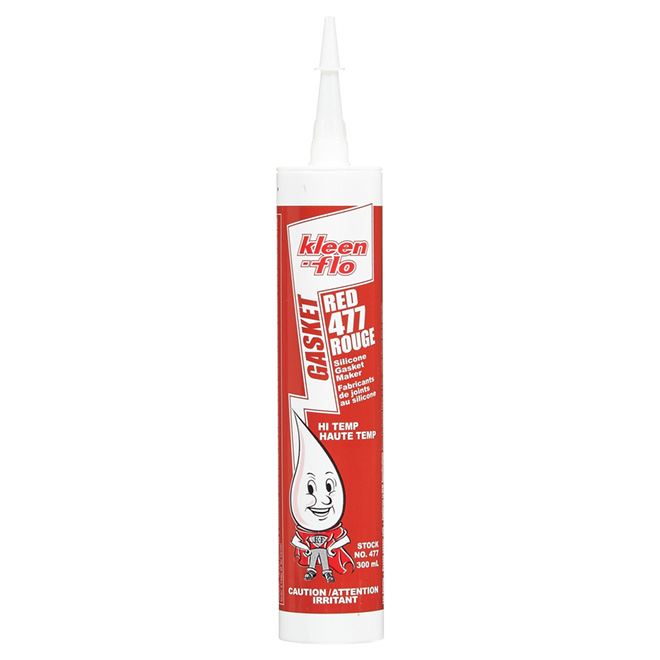 KLEEN-FLO Silicone Gasket - High-Temperature - Red - 300 mL 477 | RONA