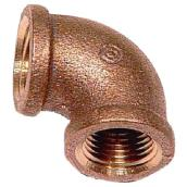 Elbow - Brass - 90° - 1/2