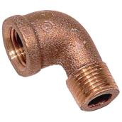 Street Elbow - Brass - 90° - 1/2