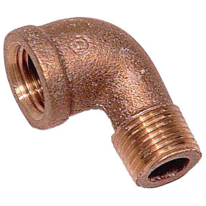 """Street Elbow - Brass - 90° - 3/4"""" x 3/4"""" - FIP x MIP"""