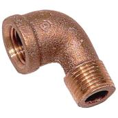 Street Elbow - Brass - 90° - 3/4