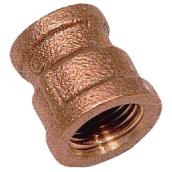 Reducer Coupling - Brass - 1/2