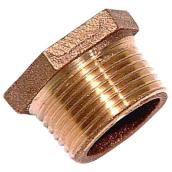 Hex Bushing - Brass - 1 x 3/4