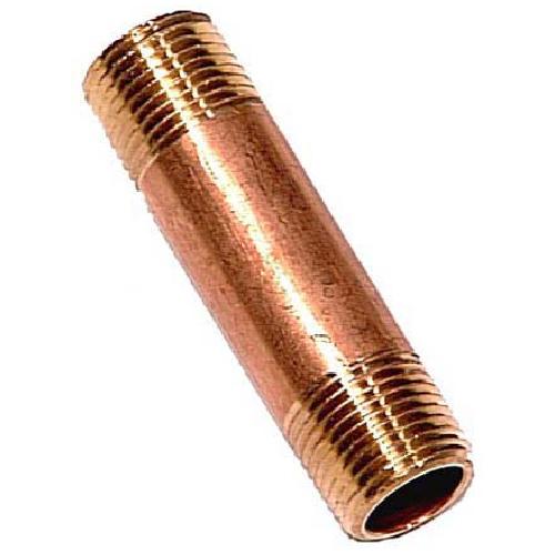 """Nipple - Brass - 1/2"""" x 3"""" - MIP x MIP"""