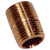 Nipple - Brass - 1/2