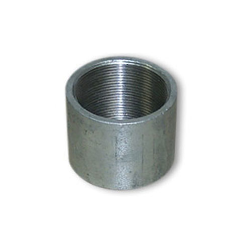 Galvanized Steel Coupling - 1 1/2""