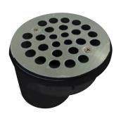 "Shower Drain - 2"" - ABS/Steel - Stainless Steel"