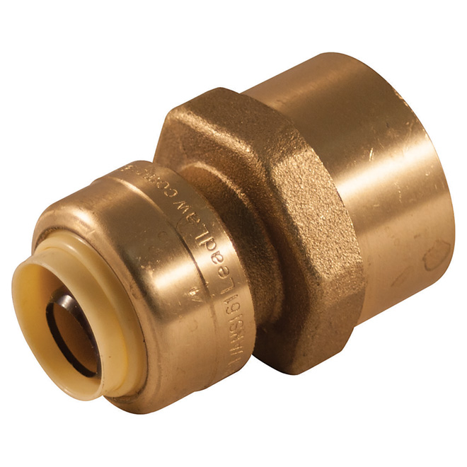 """1/2"""" x 3/4"""" Push Fit Adapter"""