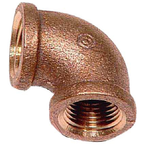 """Elbow - Lead-Free Brass - 90° - 3/8"""" x 3/8"""" - FIP x FIP"""