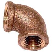 "Elbow - Lead-Free Brass - 90° - 3/8"" x 3/8"" - FIP x FIP"