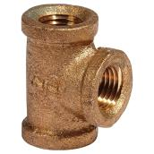 T-Fitting - Lead-Free Brass - 1/4