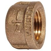 Pipe Cap - Lead-Free Brass - 1/2