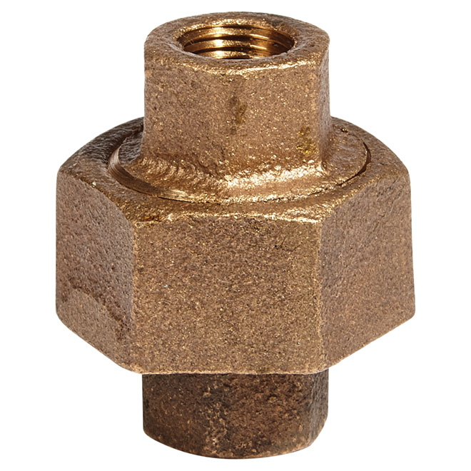 "Union - Lead-Free Brass - 1/8"" x 1/8"" - FIP x FIP"