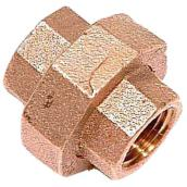 "Union - Lead-Free Brass - 1/2"" x 1/2"" - FIP x FIP"