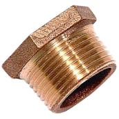 Hex Bushing - Lead-Free Brass - 1