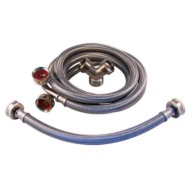 Steam Dryer Connector Kit - 3 Pieces