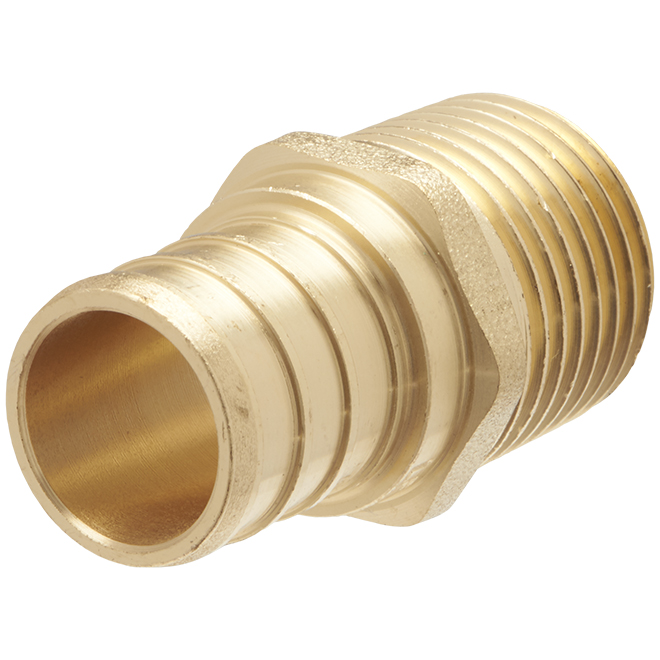"Lead Free PEX Insert Male Adapter - 3/4"" x 1/2"""