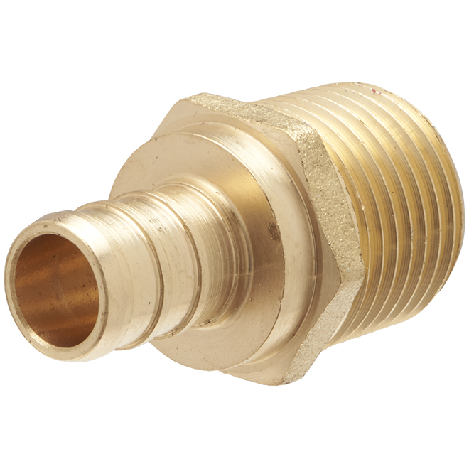 "Lead Free PEX Insert Male Adapter - 1/2"" - 25/Pack"