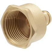 "Lead Free PEX Female Adapter - 1/2"" x 3/4"""
