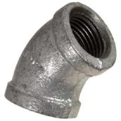 Galvanized Elbow - 45° - 3/8""