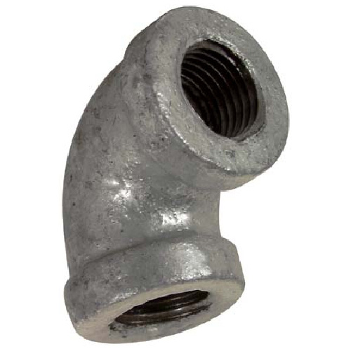 Galvanized Elbow - 90° - 1/4""