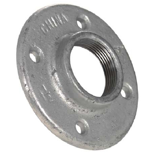 Galvanized Floor Flange - 1 1/2""