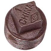 Plug Black Steel - Square Head - 1/4''