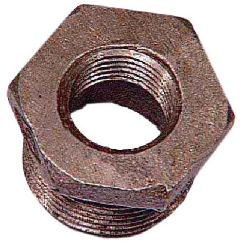 "Black Iron Hex Bushing - 1/2"" x 1/4"""