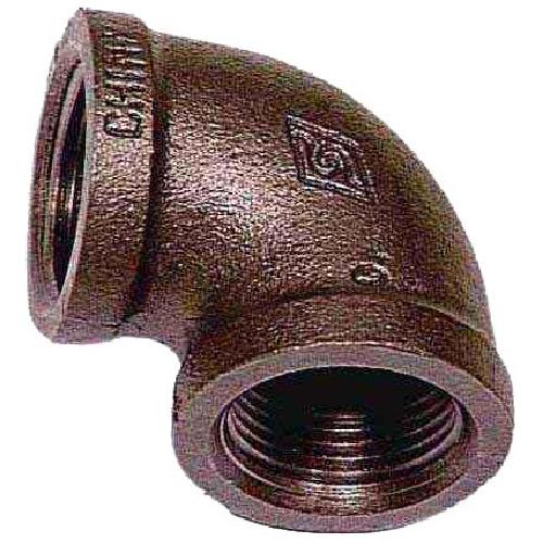 """Black Iron Elbow - 1"""""""