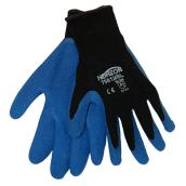 Horizon Work Gloves for Men - Medium - Latex Poly-Cotton