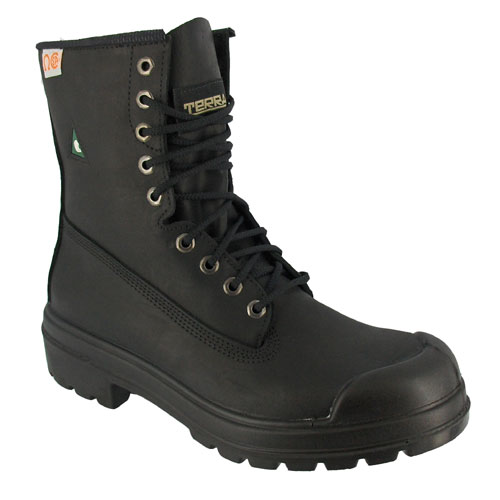 Workboots - Leather - Size 10 - Black