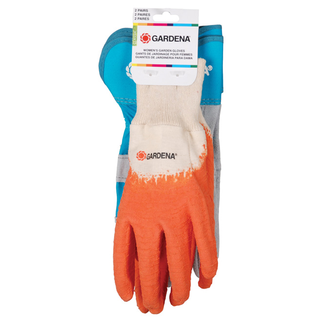 Gardening Gloves for Women - Leather and Latex