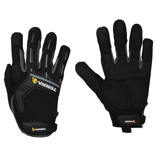 Mechanic Gloves made of Synthetic Leather - Large