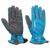 Gants de jardinage pour femme, petit/moyen, bleu