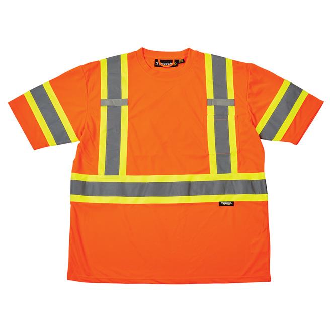High Visibility Short Sleeve Shirt - 2XL - Orange