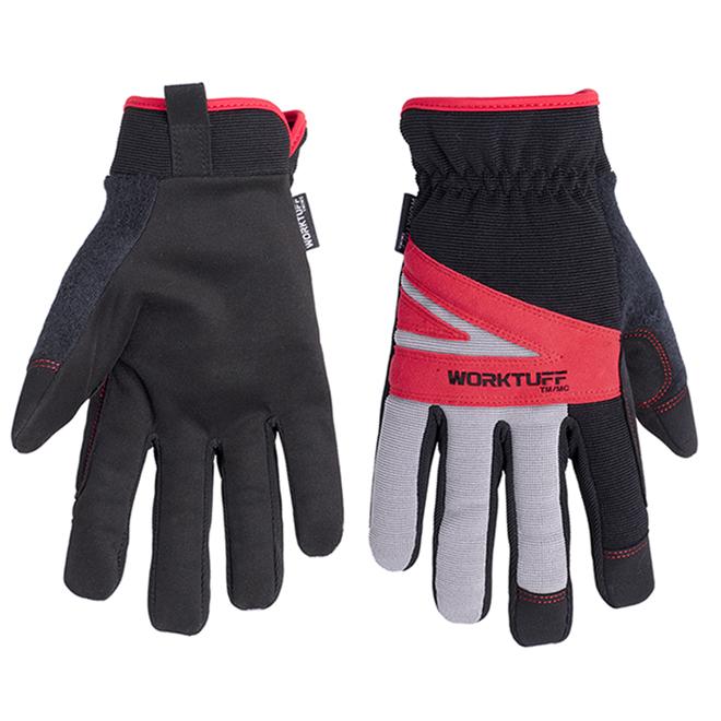 Synthetic Leather Mechanic Gloves - Medium