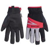 Synthetic Leather Mechanic Gloves - Large