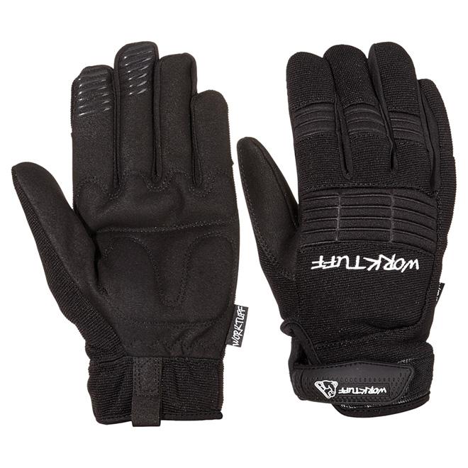 Men's Synthetic Leather Mechanic Gloves - Dexterity - L