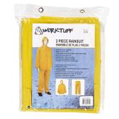Men's 2-Piece Rain Suit - PVC - Yellow - L