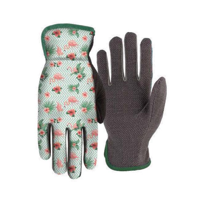Gants de jardinage pour femme, coton extensible, taille unique