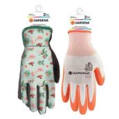 Pack of 2 Pairs of Gardening Gloves