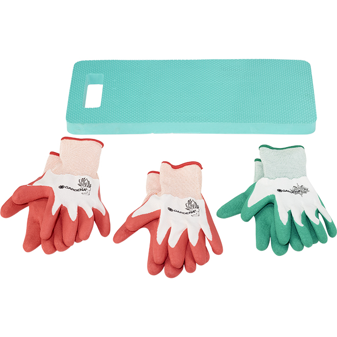 Gardena Gardeners Kit - Gloves and Knee Pad - 4/pcs