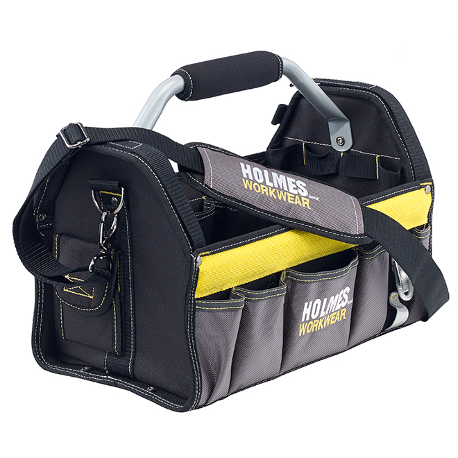 Sac à outils ouvert Holmes Workwear, 16'' x 9,5'' x 10''