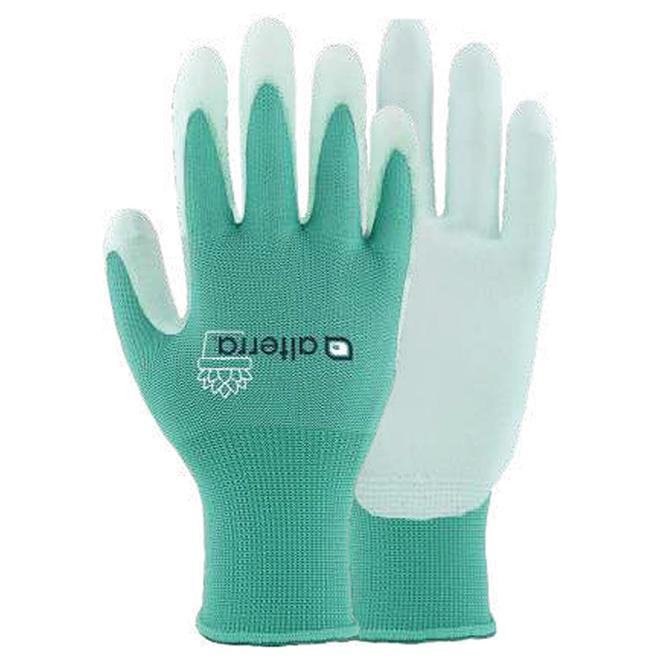 Alterra Women Small/Medium Turquoise Polyester Garden Gloves